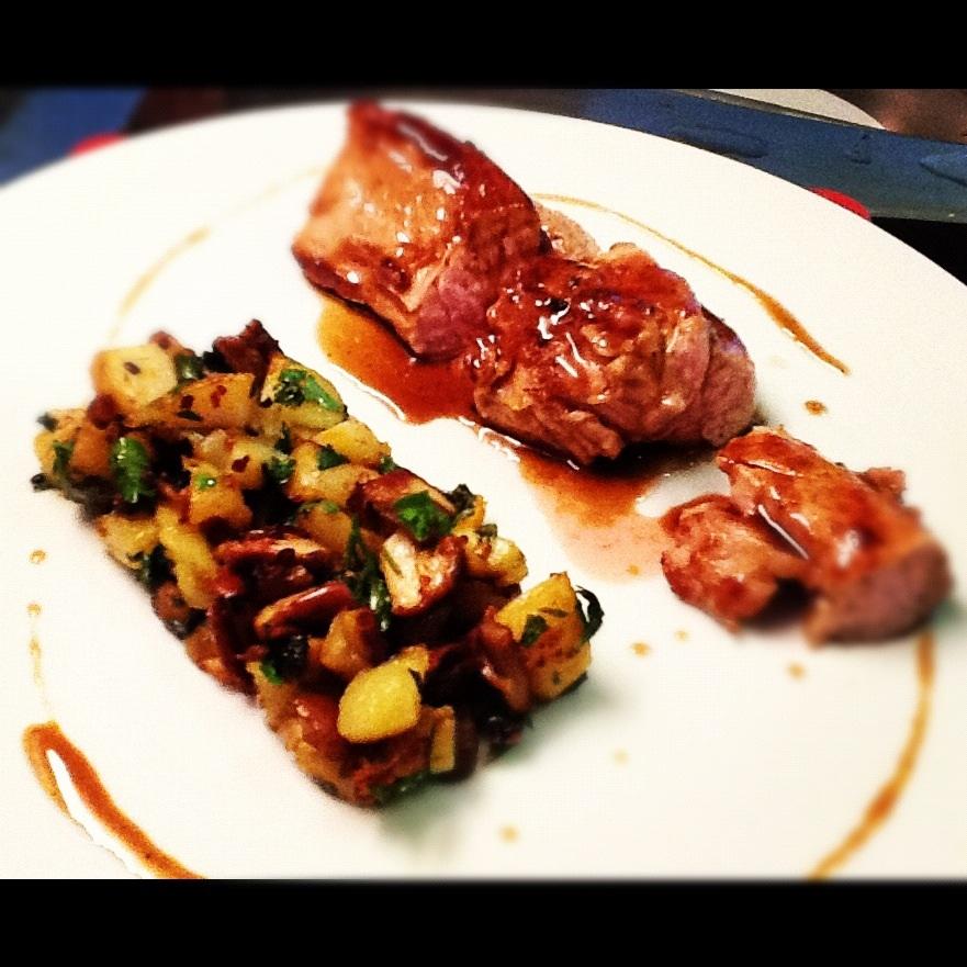 Tendrons de veau po l e de pommes de terre et c pes jus - Cuisiner tendron de veau ...
