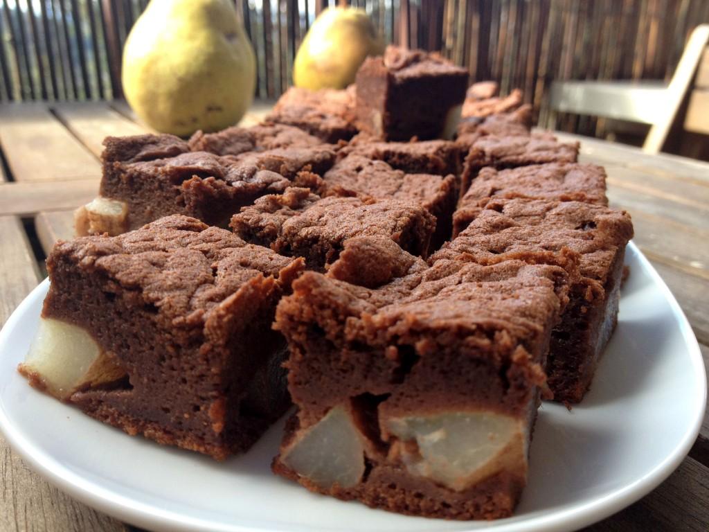 Le gateau mousse au chocolat et aux poires ou comment - Comment cuisiner un gateau au chocolat ...