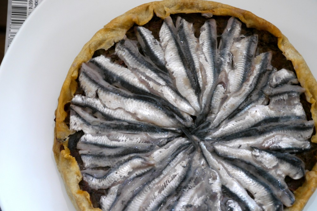 tarte anchois ratatouille