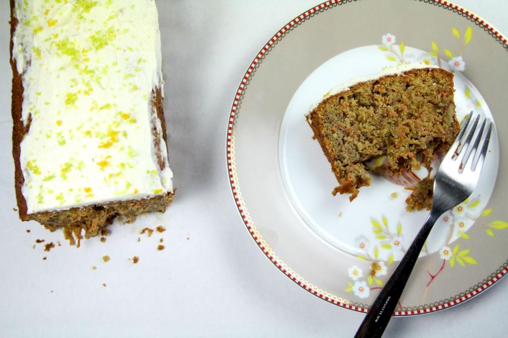 Glacage Mascarpone Carrot Cake