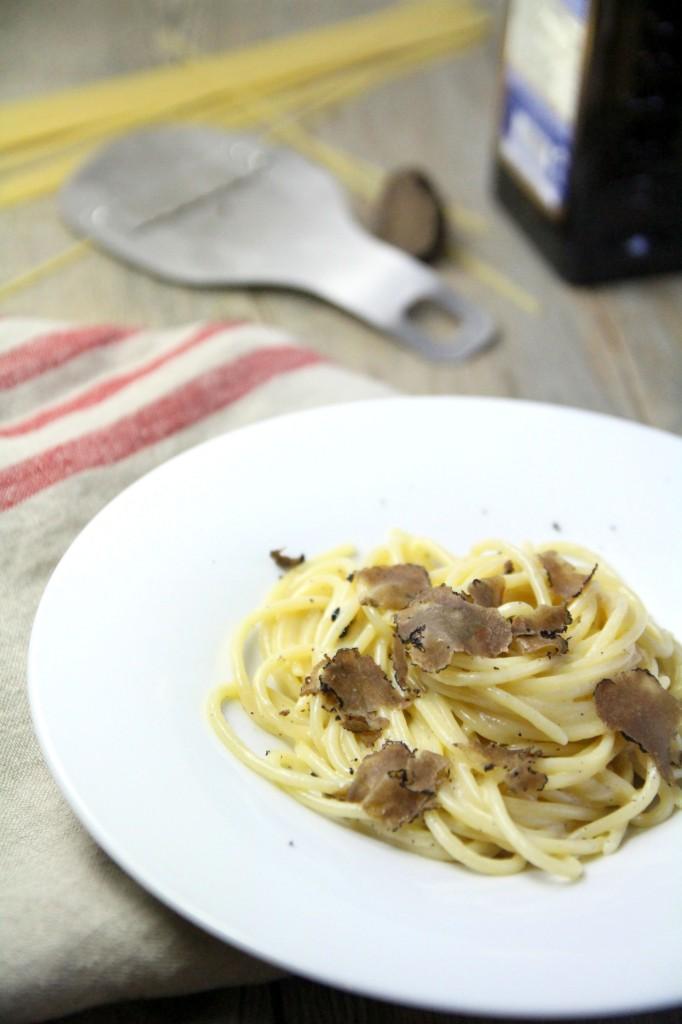 Spaghetti al tartuffo 8