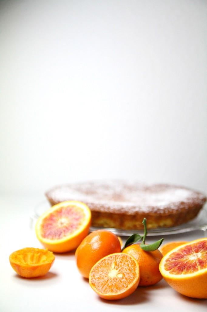 Cake mandarines oranges 2