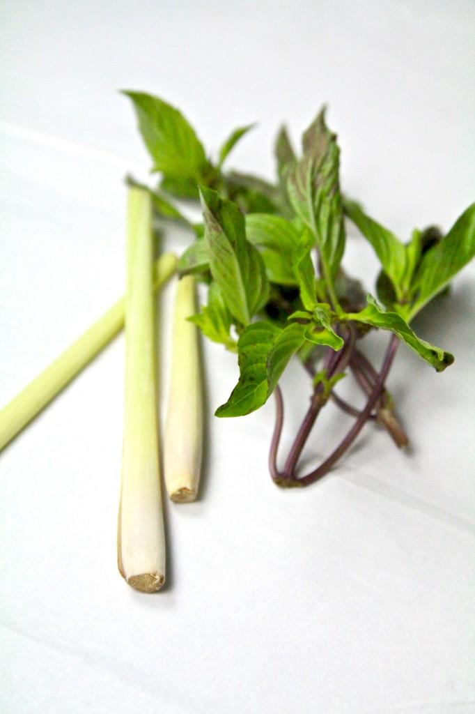 Lemongrass thai basil 2