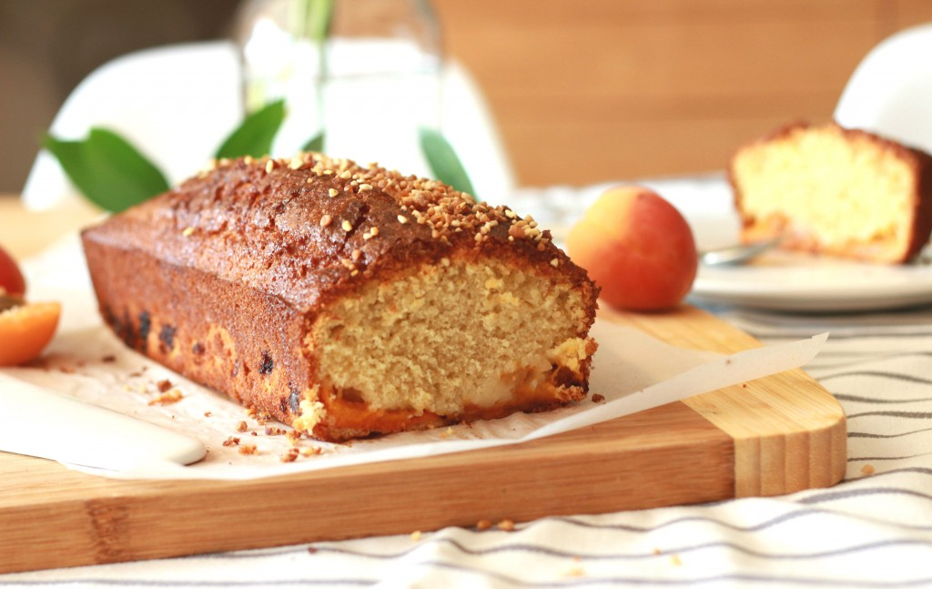Cake aux abricots et à la ricotta {sans gluten} - Apricot and ricotta cake {Gluten Free}