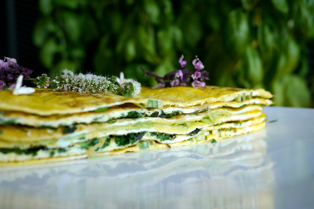 millefeuille crêpes