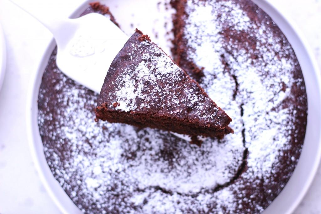 Torta caprese gateau moelleux aux amandes et au chocolat sans gluten sans sucre the - Gateau au chocolat sans sucre ...